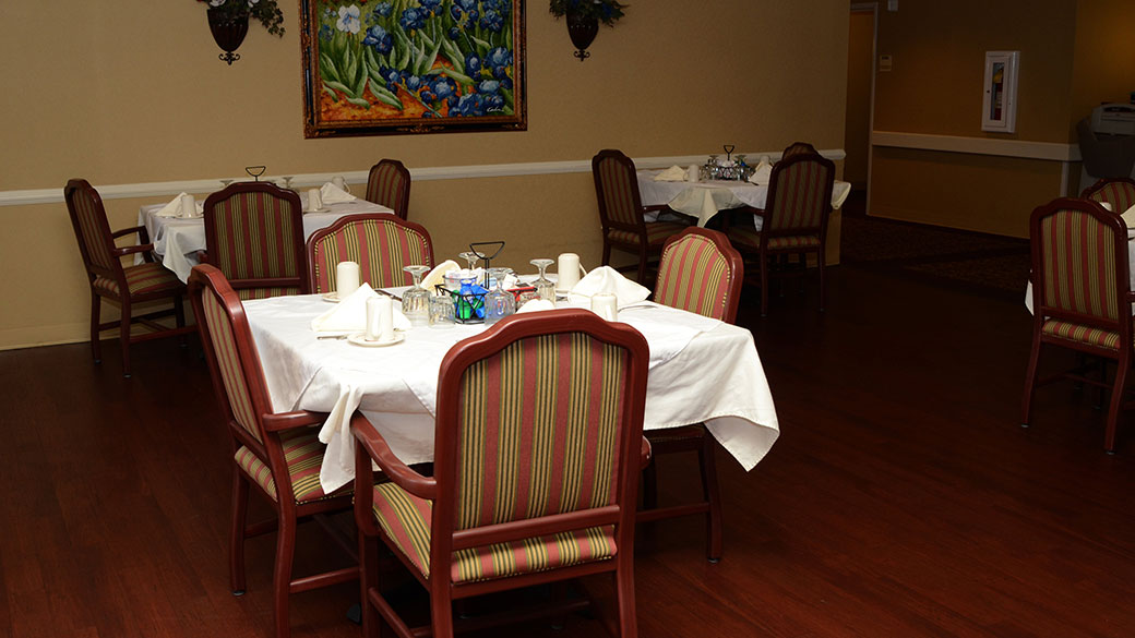 Our Spring Dining Room: Spring Mill Health Campus